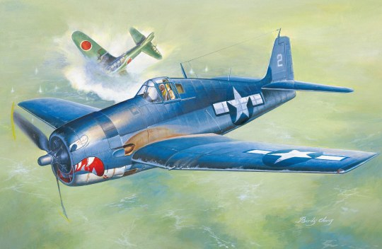 Hobby Boss - F6F-3 Hellcat Early Version