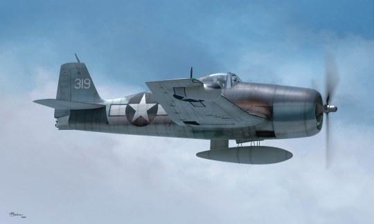 Hobby Boss - F6F-3N Hellcat