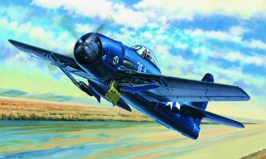 Hobby Boss - F8F-1 Bearcat
