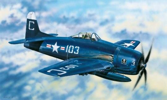 Hobby Boss - F8F-2 Bearcat