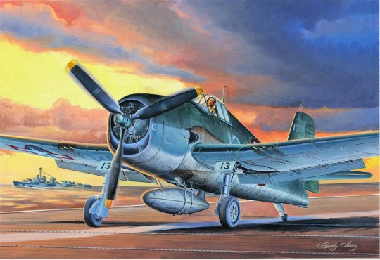 Hobby Boss - F6F-3 Hellcat Late Version