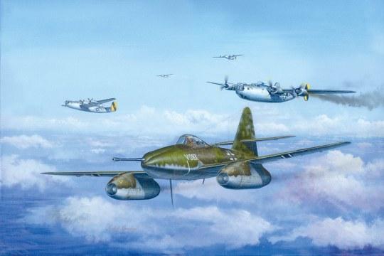 Hobby Boss - Messerschmitt Me 262 A-1a/U4