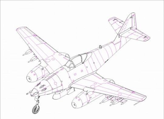 Hobby Boss - Me 262 A-1a/U5