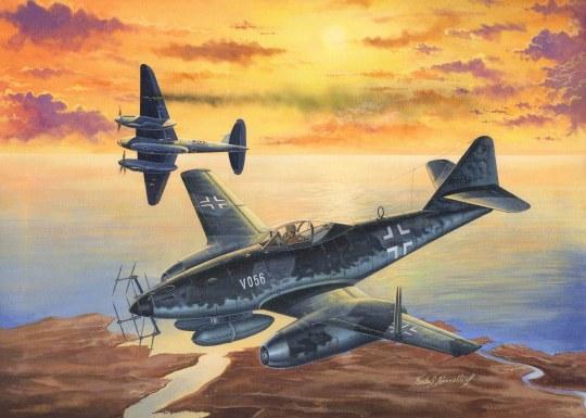 Hobby Boss - Me 262 A-1a/U2 (V056)