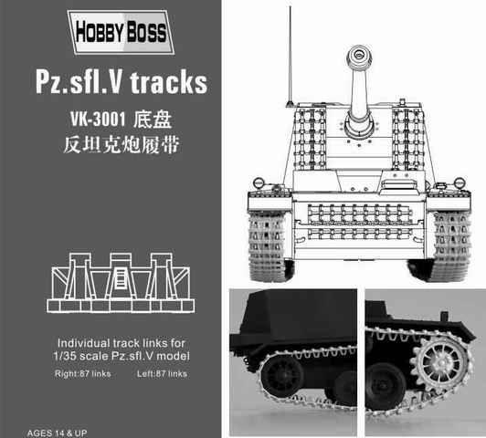 Hobby Boss - Pz.Sfl.V ''Sturer  Emil'' tracks