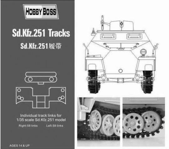 Hobby Boss - Sd.Kfz 251 tracks