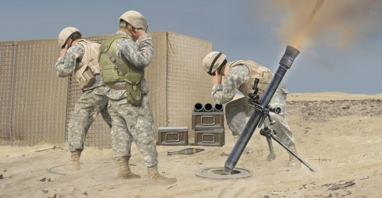 Hobby Boss - M252 Mortar