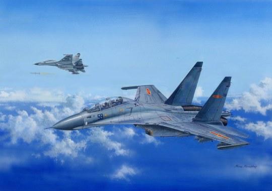 Hobby Boss - Su-30MKK Flanker G