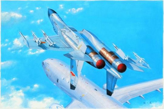 Hobby Boss - PLA J-11B