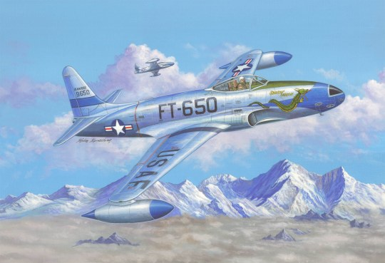 Hobby Boss - F-80C Shooting Star fighter