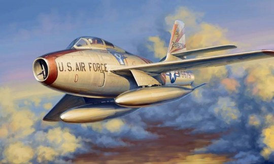 Hobby Boss - F-84F Thunderstread