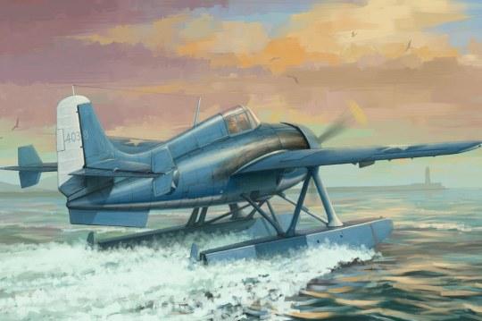Hobby Boss - US F4F-3S Wildcatfish