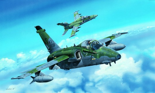 Hobby Boss - A-1A Ground Attack Aircraft