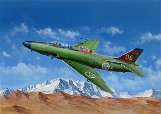 Hobby Boss - SAAB J-32B/E Lansen