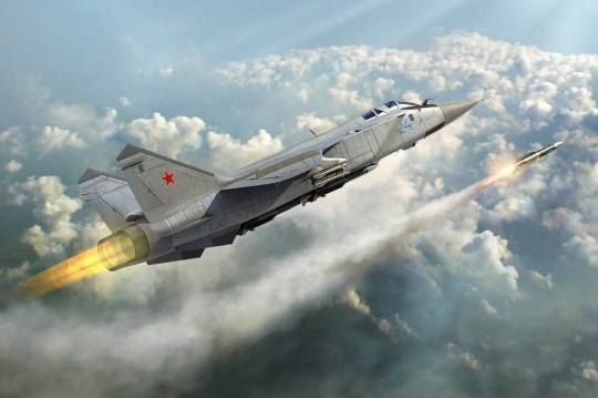 Hobby Boss - Russian MiG-31 Foxhound