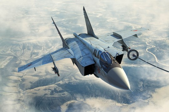 Hobby Boss - Russian MiG-31B/BM Foxhound