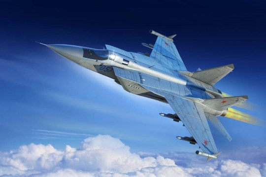 Hobby Boss - Russian MiG-31M Foxhound