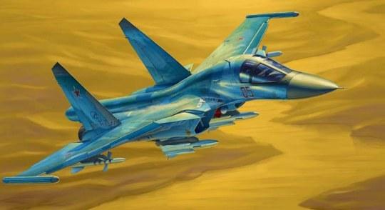 Hobby Boss - Russian Su-34 Fullback Fighter-Bomber