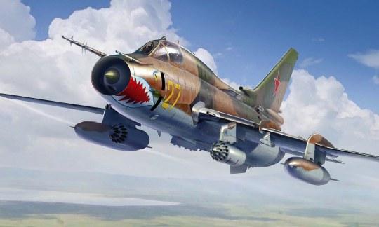 Hobby Boss - Su-17M4 Fitter-K