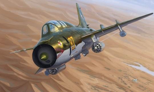 Hobby Boss - Su-17UM3 Fitter-G