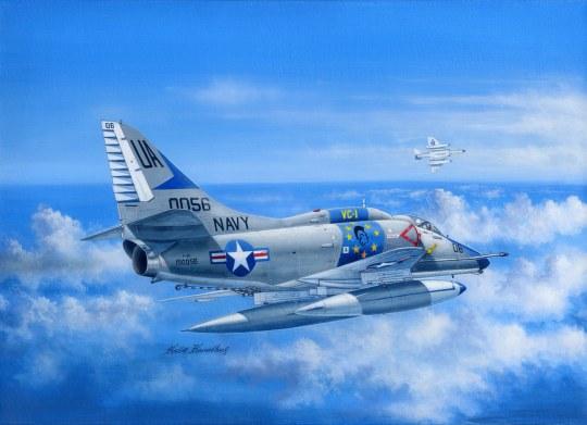 Hobby Boss - A-4E Sky Hawk
