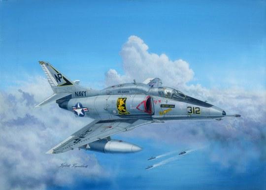 Hobby Boss - A-4F Sky Hawk