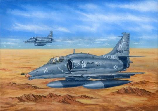 Hobby Boss - A-4M Sky Hawk