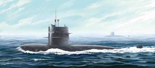 Hobby Boss - PLA Navy Type 039G Song class SSG
