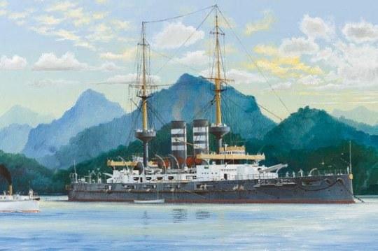 Hobby Boss - Japanese Battleship Mikasa 1902