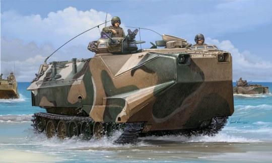 Hobby Boss - AAVP-7A1 Assault Amphibian Vehicle Personnel