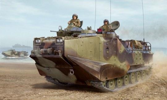 Hobby Boss - AAVP-7A1 Assault Amphibious Vehicle (w/mounting bosses)