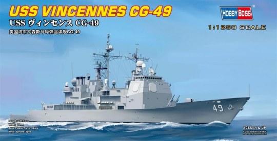 Hobby Boss - USS VINCENNES CG-49