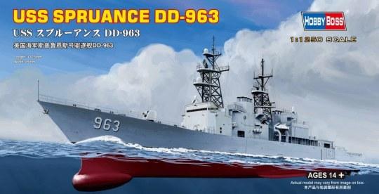 Hobby Boss - USS Spruance DD-963
