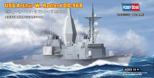 Hobby Boss - USS Arthur W. Radford DD-968
