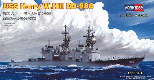 Hobby Boss - USS Harry  W. Hill D-986