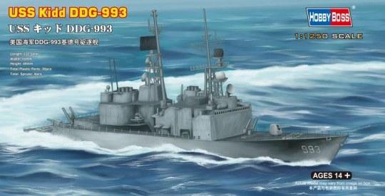 Hobby Boss - USS Kidd DDG-993