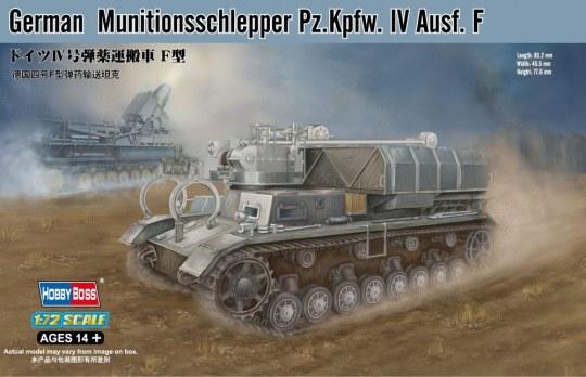 Hobby Boss - German Munitionsschlepper Pz.Kpfw. IV Ausf. F