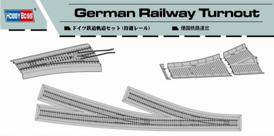 Hobby Boss - German Railway Turnout