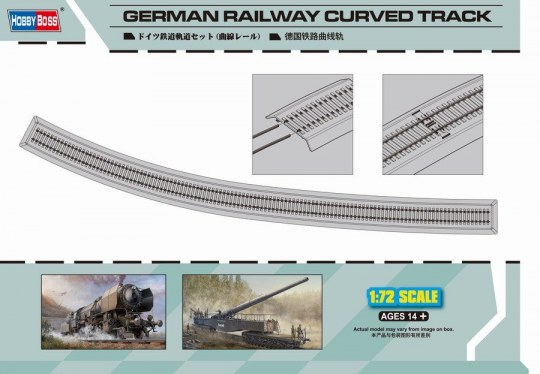 Hobby Boss - German Railway Curved Track