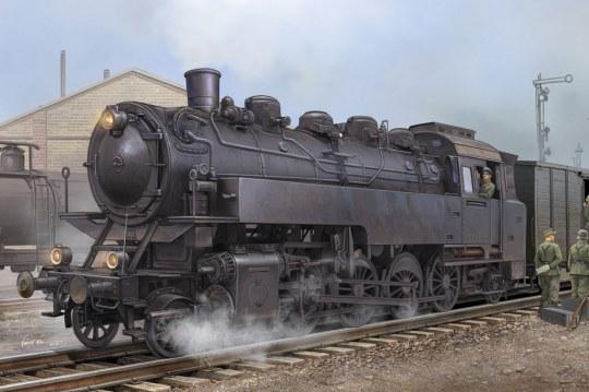 Hobby Boss - German Dampflokomotive BR86