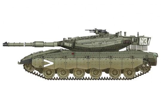 Hobby Boss - IDF Merkava Mk.IIID