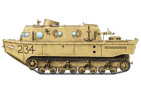 Hobby Boss - German Land-Wasser-Schlepper(LWS)amphibi tractor Early production