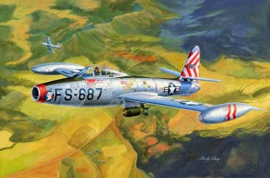 Hobby Boss - F-84E Thunderjet