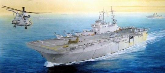 Hobby Boss - USS Wasp LHD-1