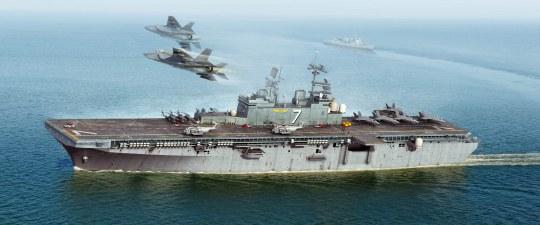 Hobby Boss - USS Iwo Jima LHD-7