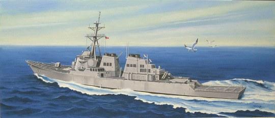 Hobby Boss - USS Arleigh Burke DDG-51