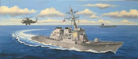 Hobby Boss - USS Cole DDG-67
