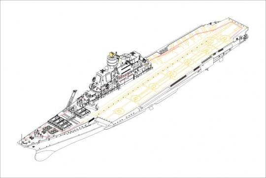 Hobby Boss - Soviet Aircraft Carrier Baku