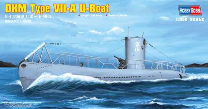 Hobby Boss - DKM Navy Type VII-A U-Boat