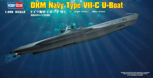 Hobby Boss - German Navy Type VII-C U-Boat